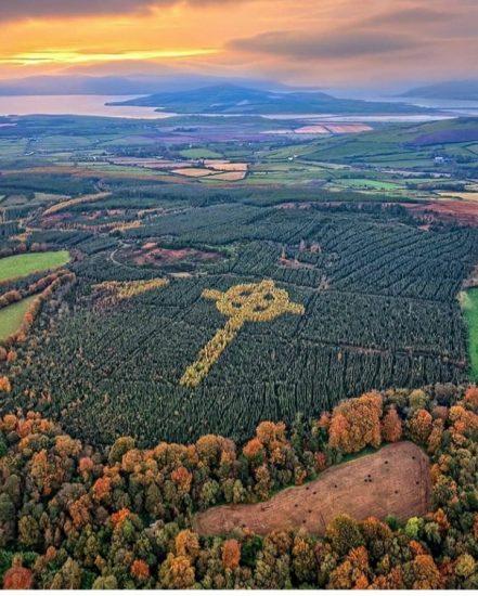 Emmery Celtic Cross Donegal ireland