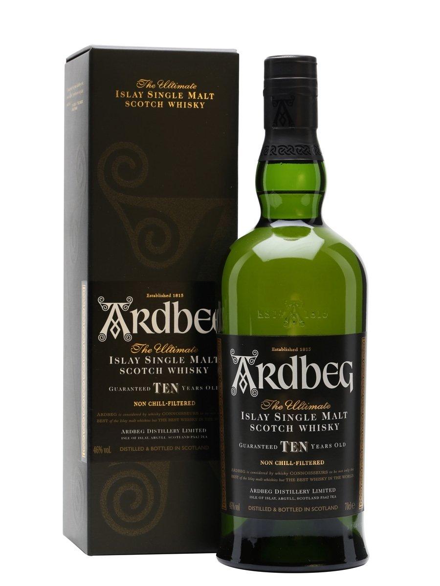 Ardbeg 10 Year Old Scotch Whisky