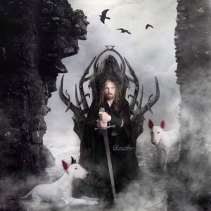 Arawn Welsh King Of The Dead and his White Dogs