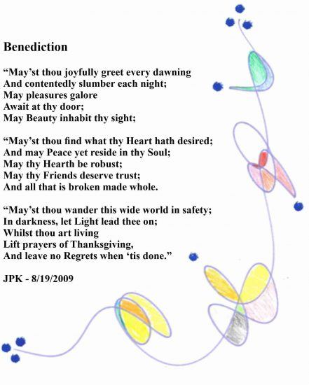 Benediction - A Poem by James Patrick Kelly Large