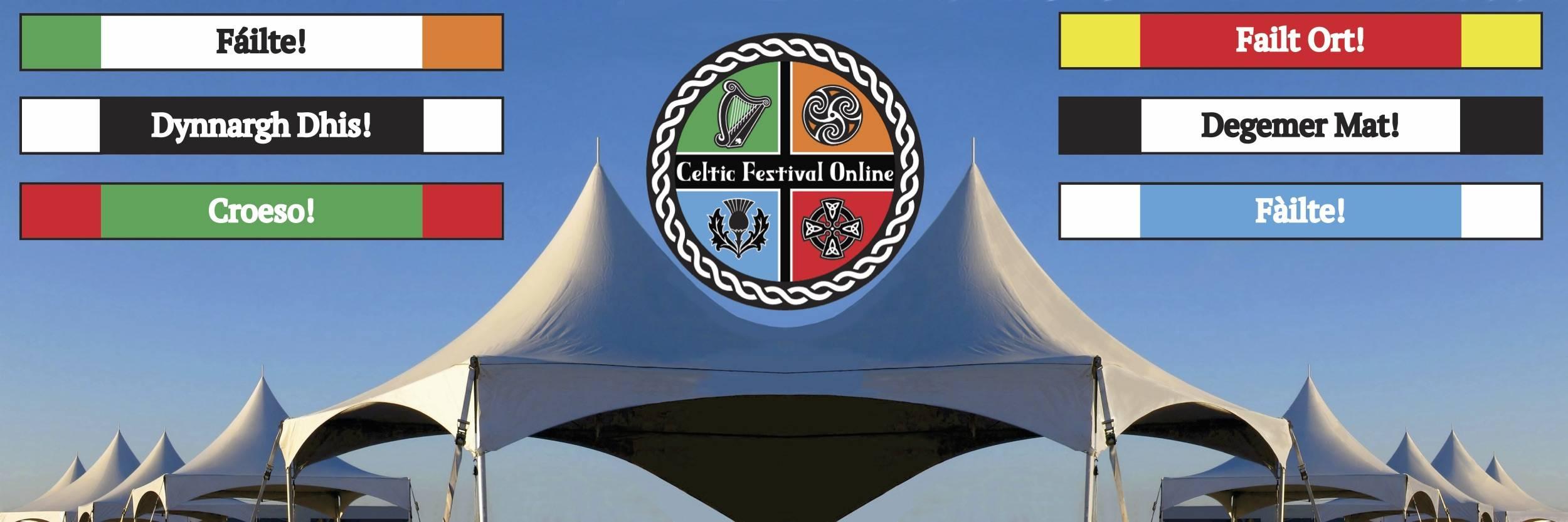 Celtic Festival Online Banner