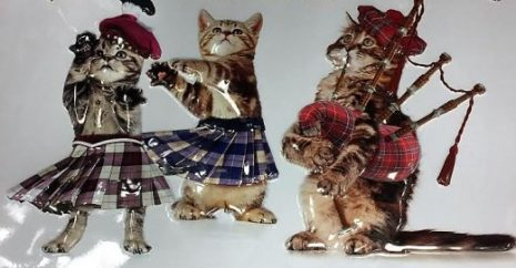 Dancing Cats In Kilts