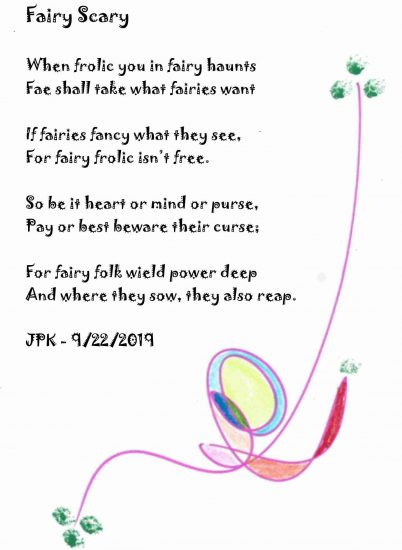 Fairy Scary - A Poem by James Patrick Kelly Large 1