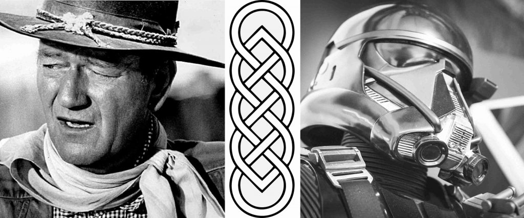John Wayne and Star Wars Celtic Knot