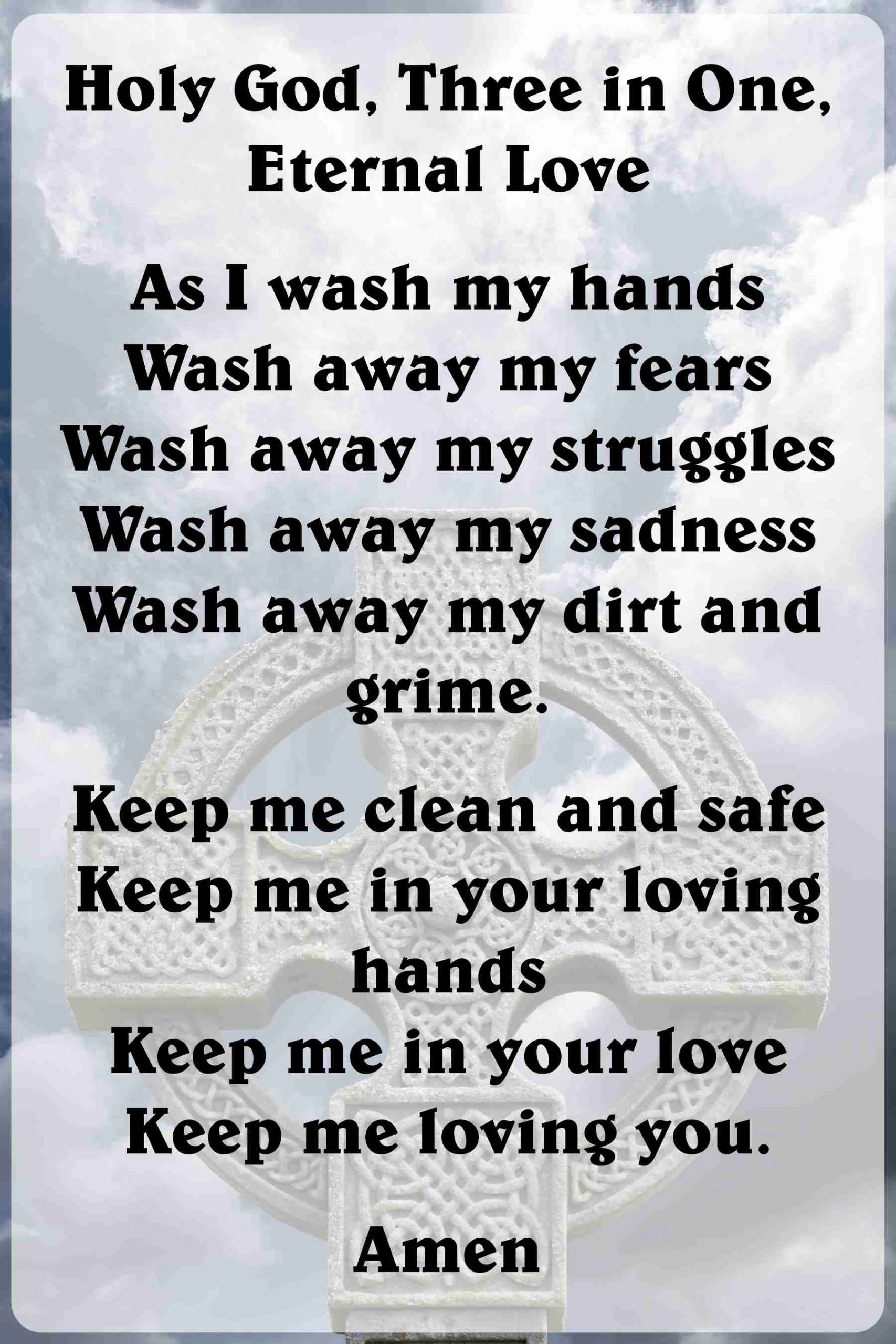 As I Wash My Hands by Bruce Allinson - As I Wash My Hands
