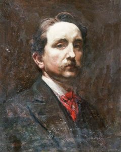 Williams, Christopher, 1873-1934; Self Portrait