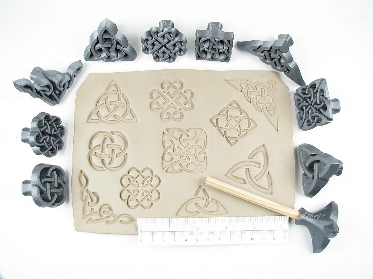 Celtic Pottery Stamps byRelyef
