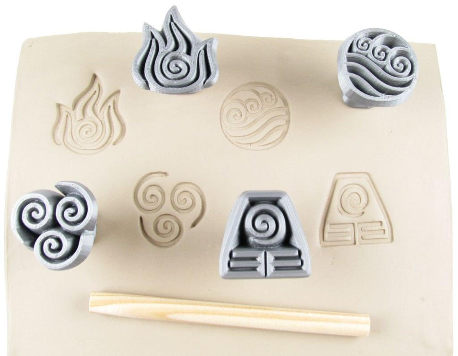 Celtic Elemental Stamps