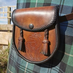 Pictish Stag day Sporran